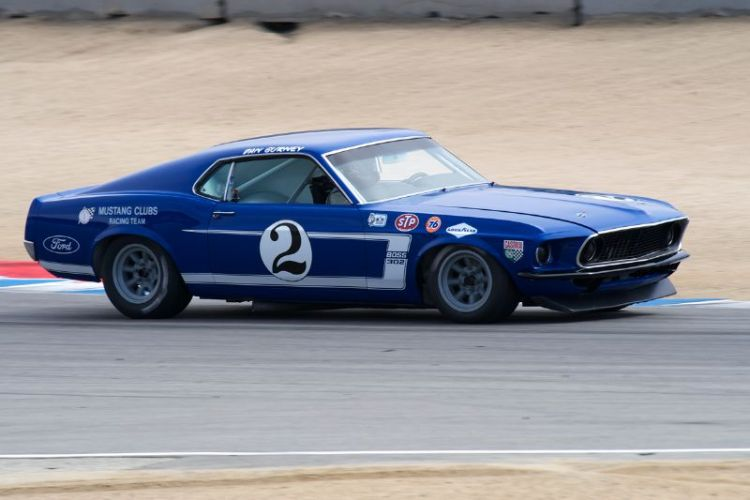 Bruce Canepa ran to first place in group 7A. 1969 Ford Mustang,
