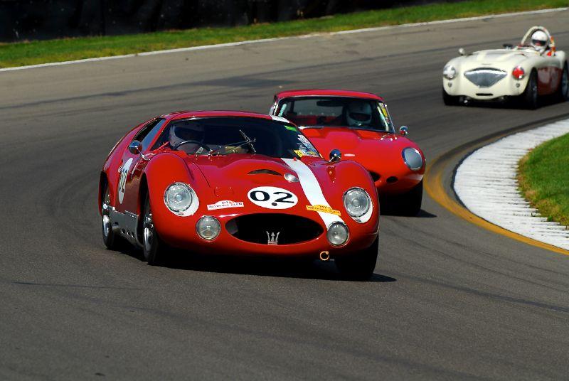 1965 Maserati Tipo 151- Charles Schwirner.