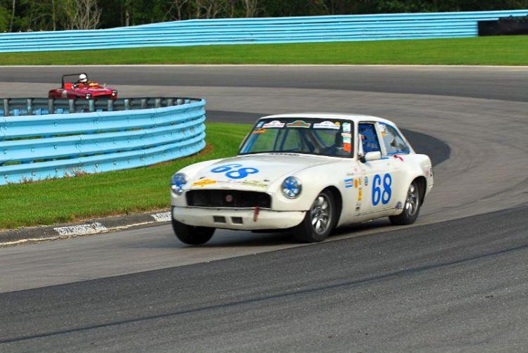 1968 MGB-GT- Alan Costich.