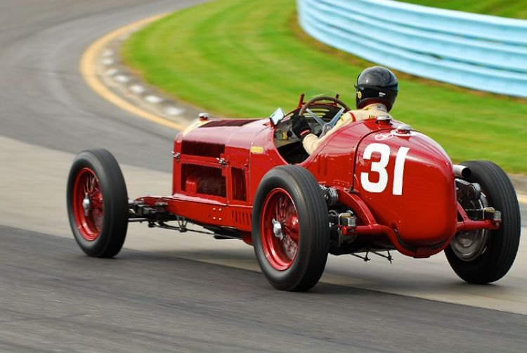 1931 Alfa Romeo Tipo B- Peter Giddings.