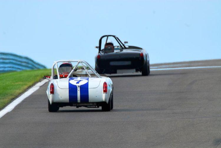 1962 MG Midget Harry Gentry.