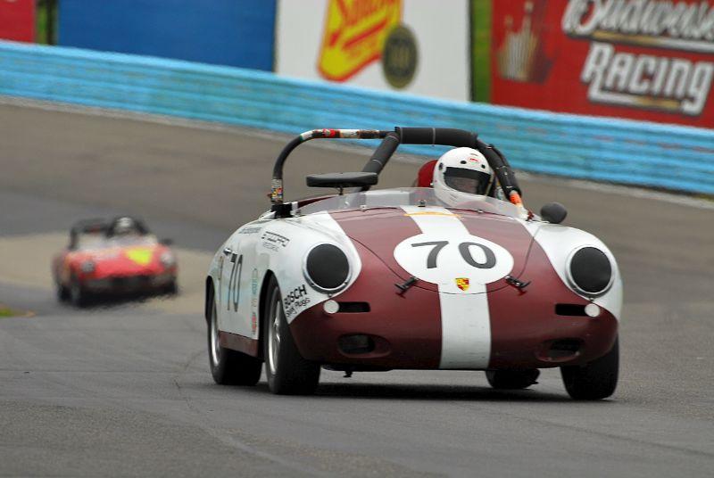 1961 Porsche 356B- Vic Skirmants.