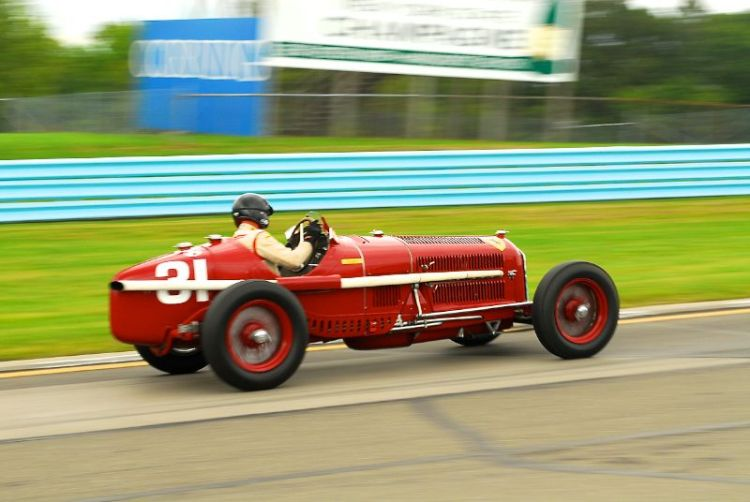 1931 Alfa Romeo Tipo B (P3)- Peter Giddings.
