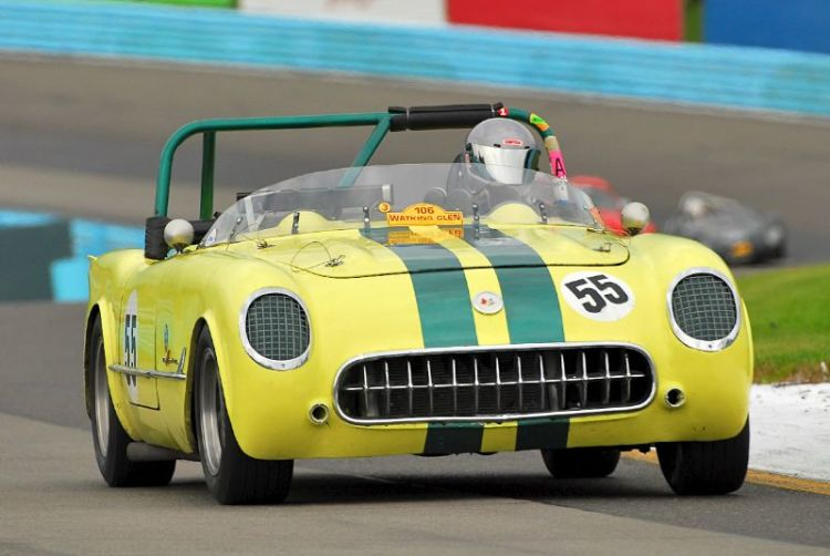1955 Corvette- Al/Bob Schwacke.