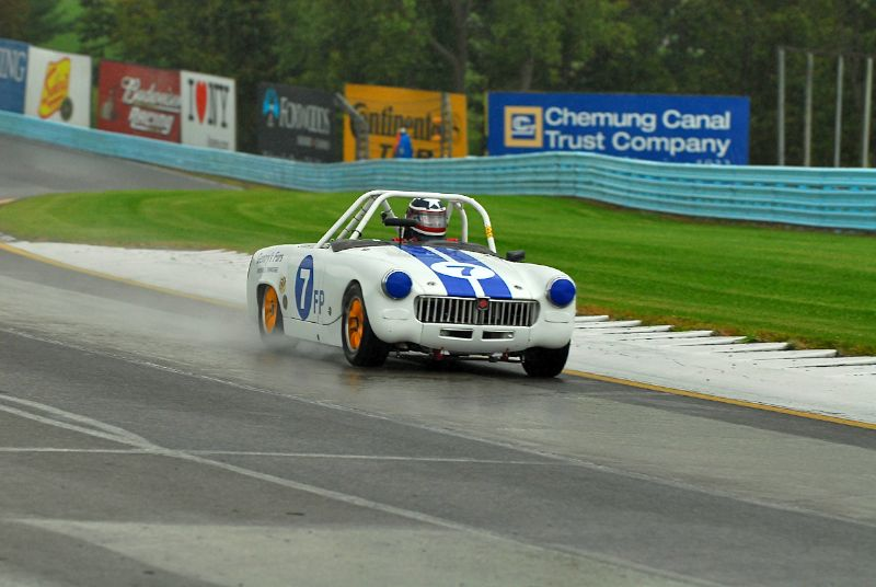 1962 MG Midget- Harry Gentry.