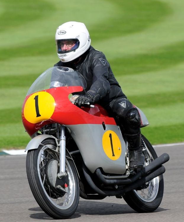 Ex-Surtees MV Agusta at Goodwood Revival 2010
