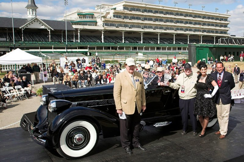 American Classics Open 1925-1948 1936 Packard V12 Boattail Speedster John Allen Minneapolis, MN