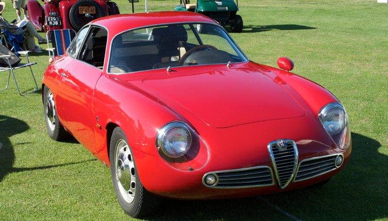 1961 Alfa Romeo Guilietta Sprint Special.