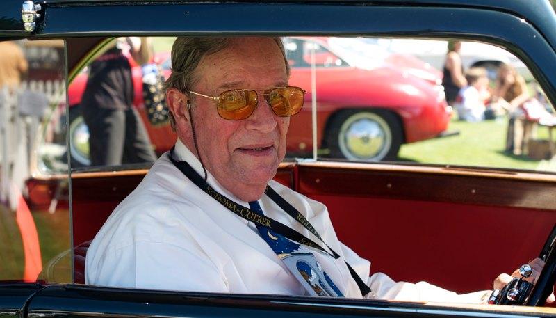 1935 Bentley Sportsman Coupe, Bob Cole