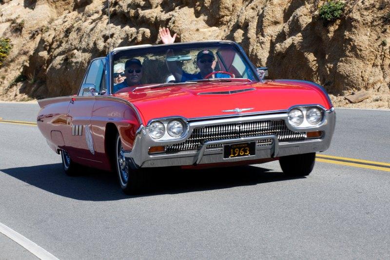 Al and Nancy Malaspina's 63 Ford Thunderbird.
