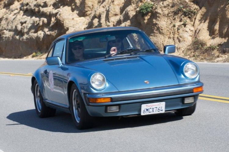 David and Andrew Wittrock's 1985 Porsche 911.