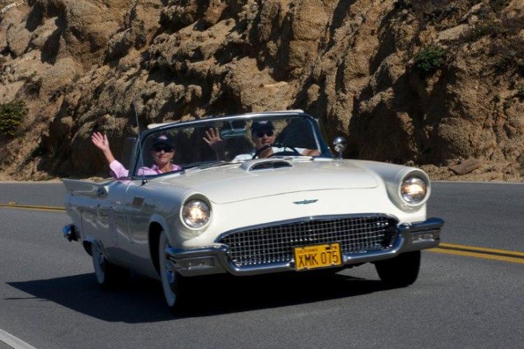 1956 Ford Thunderbird of John and Kim Tragoutsis