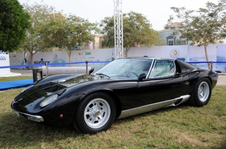 1973 Lamborghini Miura SV Speciale