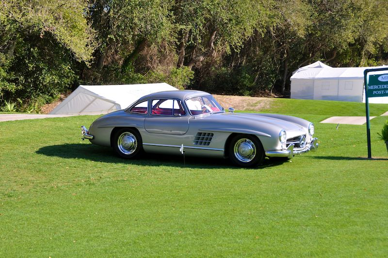 1957 Mercedes-Benz 300SL Gullwing - Patti and Jim Shacklett