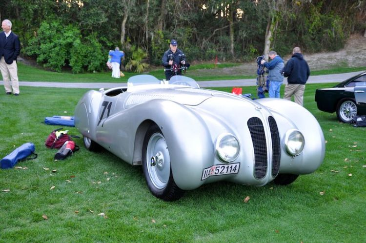 1937 BMW Mille Miglia Buegelfalte