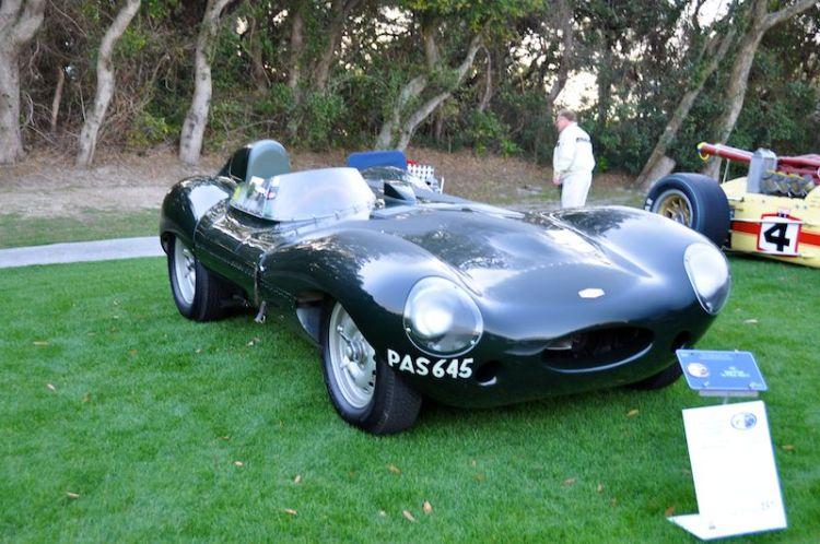 1955 Jaguar D-Type - Gary Bartlett