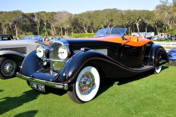 1935 Duesenberg Speedster - William Lyon Family