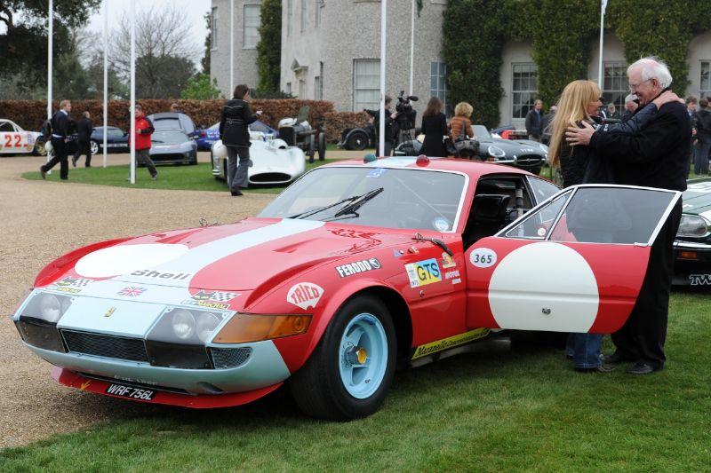 Ferrari 365 GTB4 Daytona Comp, Ex-Le Mans 1972 and 1973