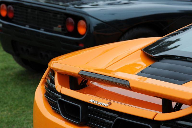 McLaren MP4-12C and McLaren F1