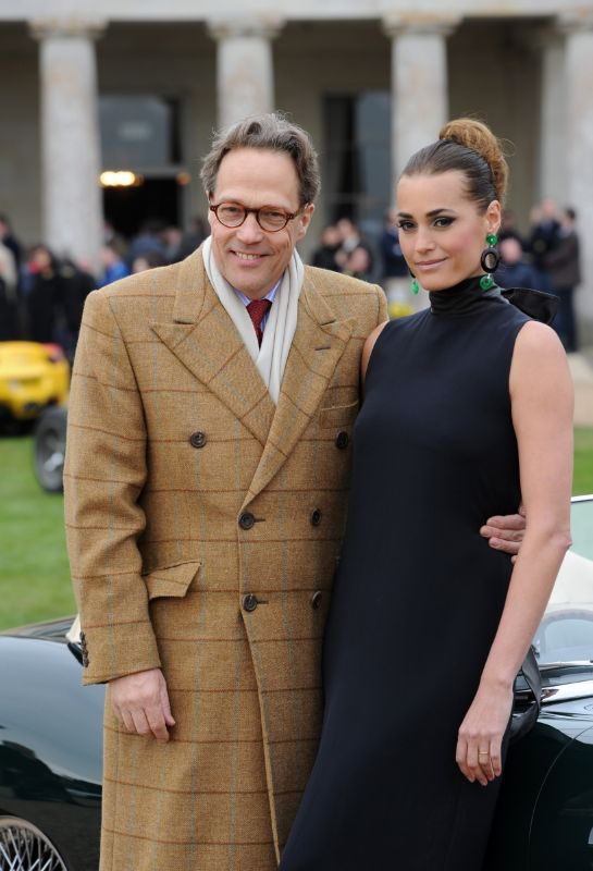 Lord March and Yasmin Le Bon