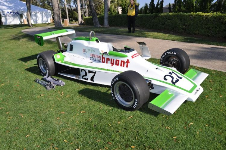 1976 Lightning Offenhauser Janet Guthrie - Robert McConnel Collection