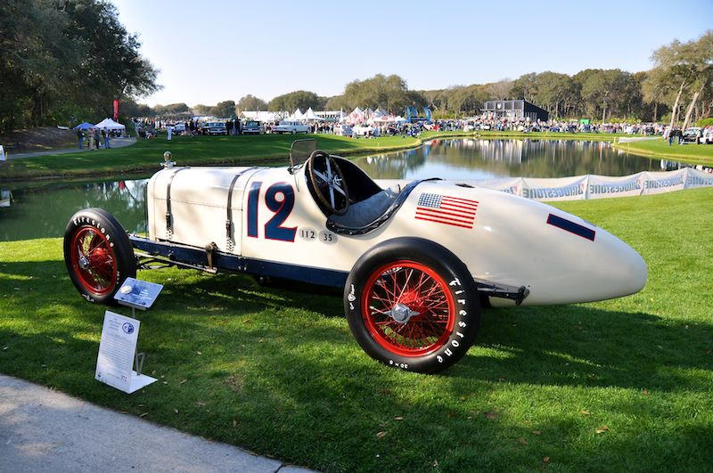 1920 Duesenberg Special #12 - Indianapolis Speedway