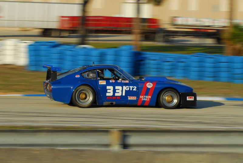 1970 Datsun 240Z with Terry Taylor.
