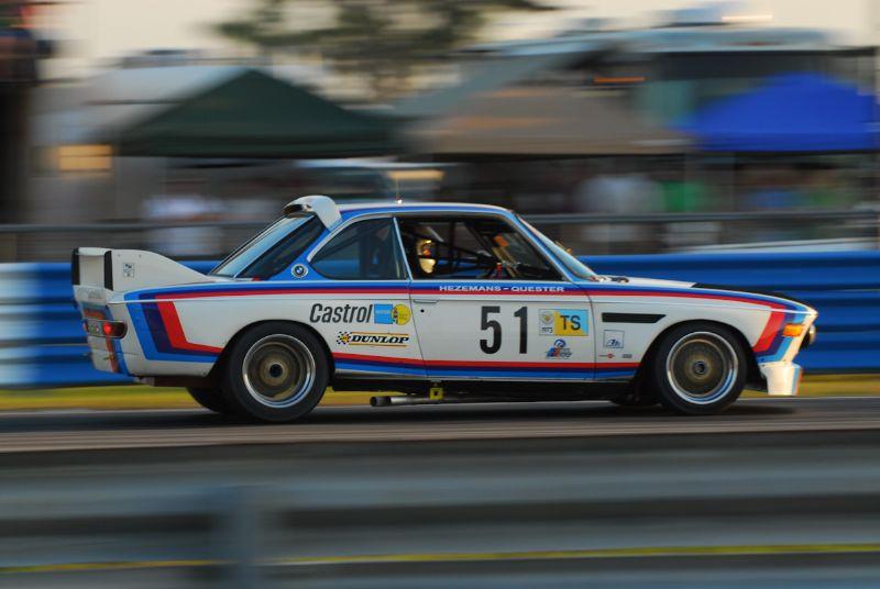 Scott Hughes 1972 BMW CSL. (10GTO).