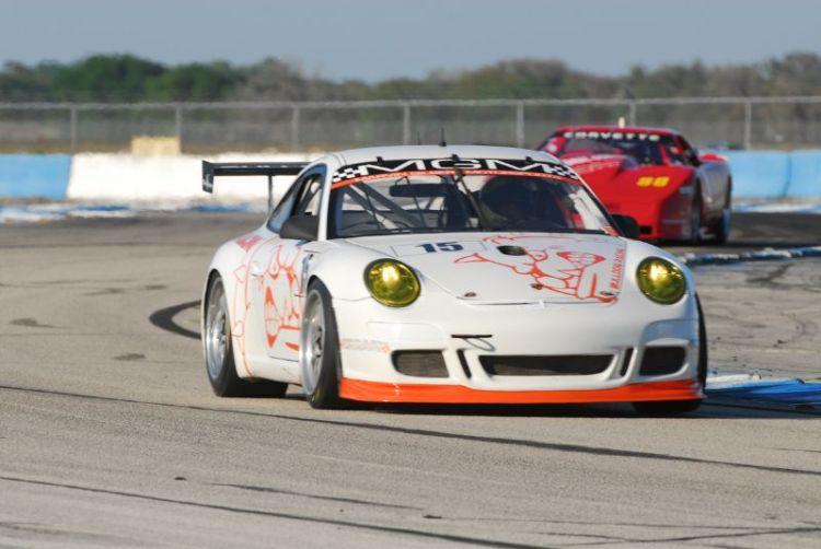 Chris Burson, Porsche GT3 Cup.