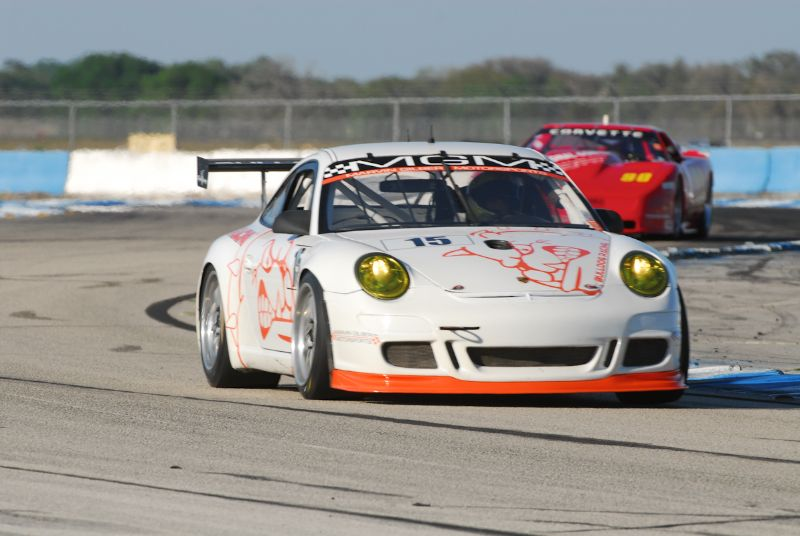 Chris Burson, Porsche GT3 Cup.