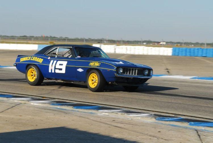 The Sunoco Camaro of Leonard McCue.
