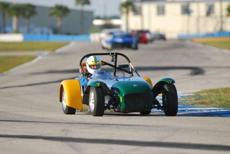 Paul Stinson, Lotus Super 7.