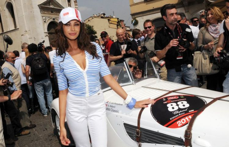 Madalina Ghenea, Godmother of Mille Miglia 2011