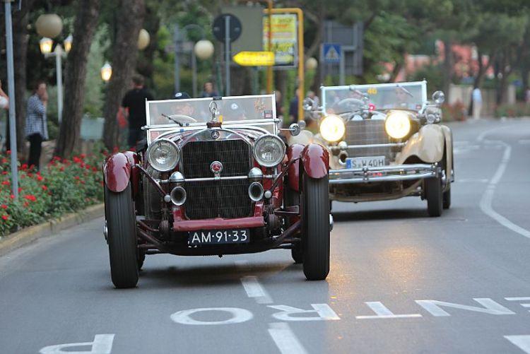 1929 Mercedes-Benz SSK and 1930 Mercedes-Benz 710 SS