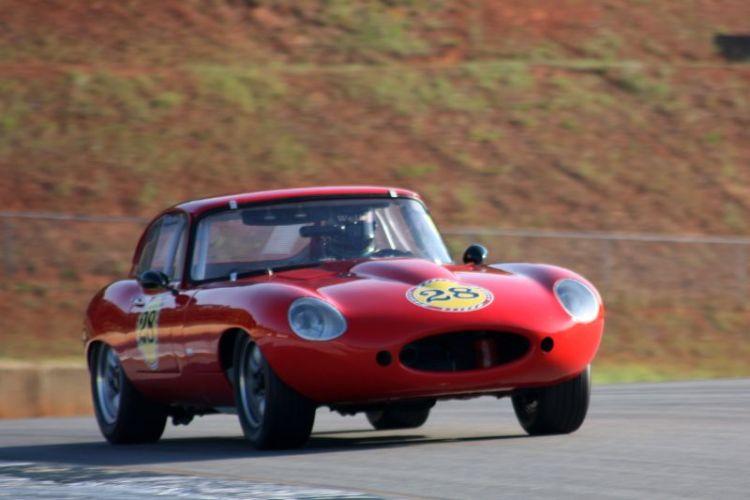 Randy Williams, 66 Jaguar E Type