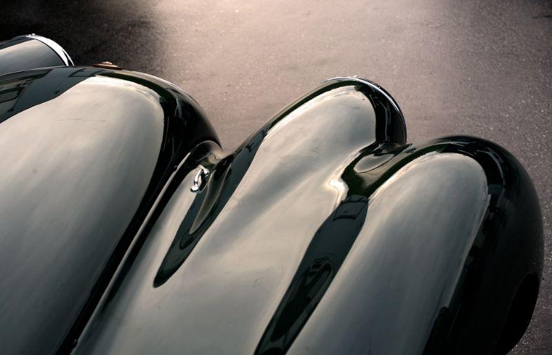 Jaguar xk 120 nose
