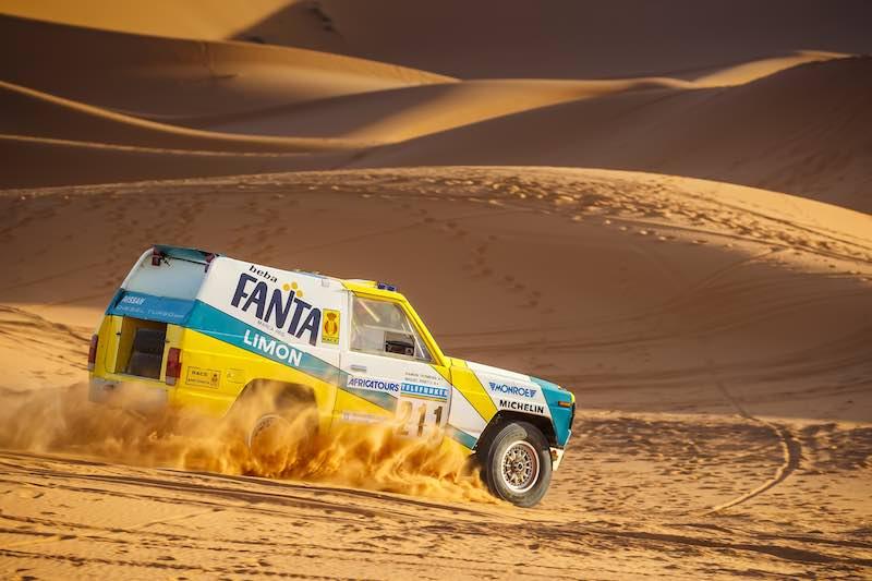 1987 Nissan Patrol Fanta Limon Paris-Dakar rally car