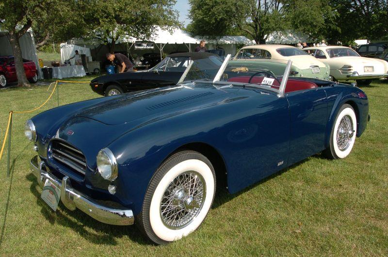 1953 Allard K3. Michael Schudroff.