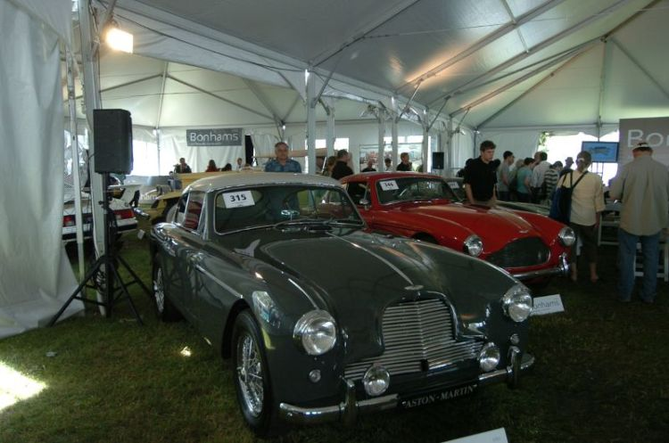 1956 Aston Martin DB2/4 Mk II 2+2 Coupe. Estimate @ $250,000- $300,000. Bonhams Auction.