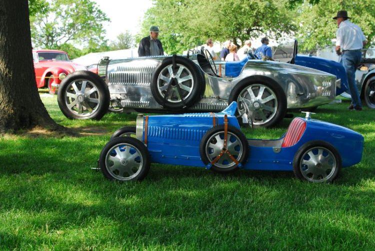1927 Bugatti T52 Baby Bugatti (Recreation).  Cecilia & Oliver Magnusson.