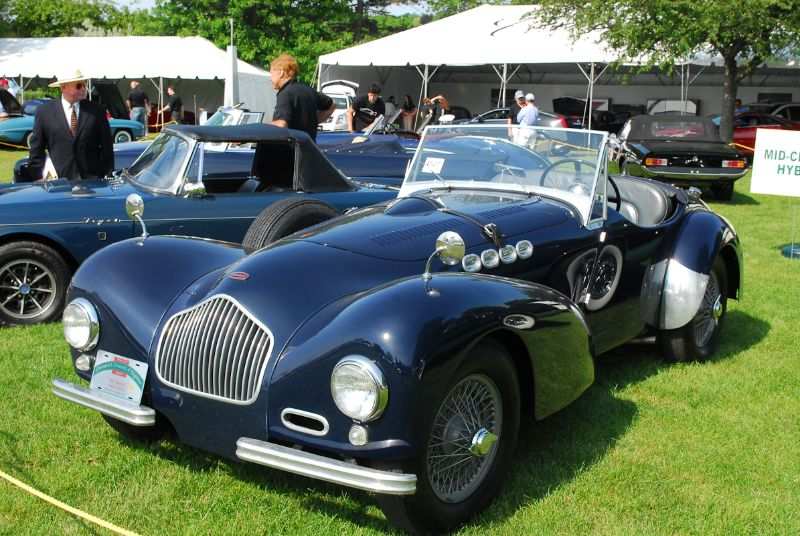 1951 Allard K2. Seagrave Racing.