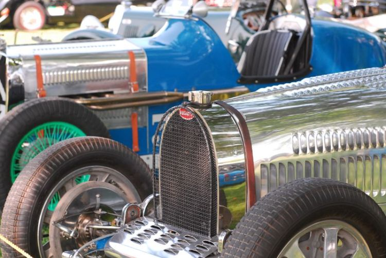 1925 Bugatti Type 35A/51. Mitchell & Wendy Gross.