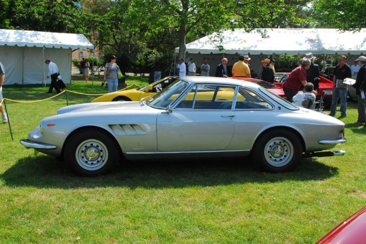 1964 Ferrari 250 GT Lusso. Roger Werner.