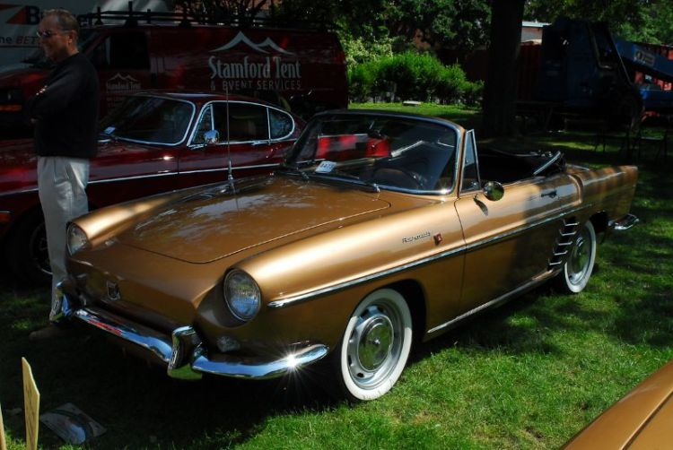 1959 Renault Caravelle. Walter Eisenstark.