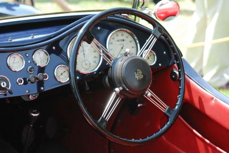 1948 Lea- Francis 14 H.P. Sports. Albert F. Ridinger + Tricia.