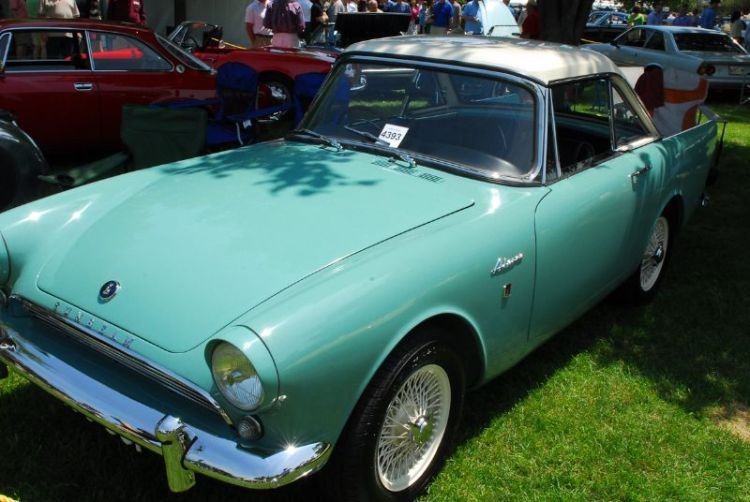 1963 Sunbeam Alpine Series III. Kim Barnes.