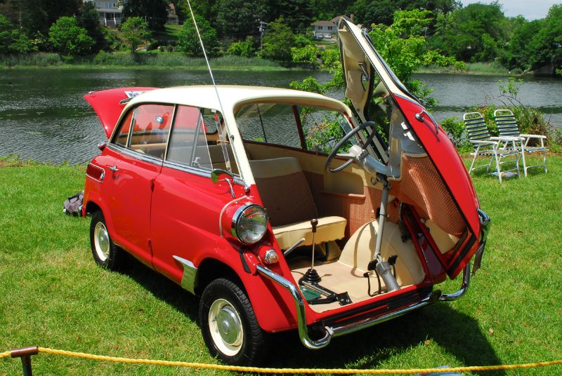 1959 BMW 600 Isetta. Joshua Brewer.