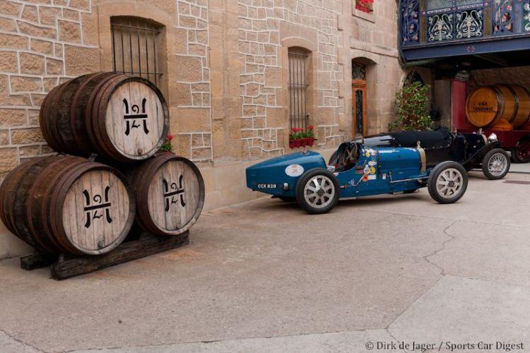 1926 Bugatti T34A sn 37163 at vineyard
