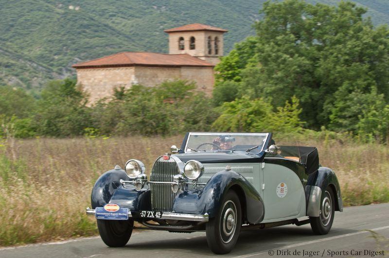 1936 Bugatti T57 Stelvio sn 57366