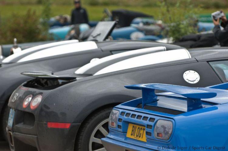 1993 Bugatti EB110 and Veyrons